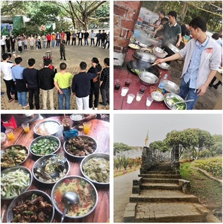 Company Team Travel in Dongguan