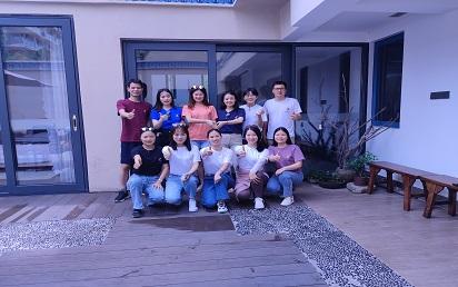 #Hondvo Sales Team Building in Double Moon Bay